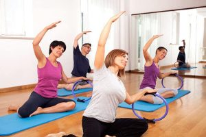 Pilates Classes using Resistance Rings Malmesbury