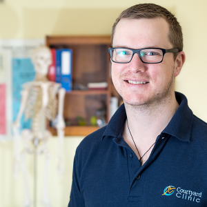 Ed Voss Physiotherapist and Pilates Instructor for Courtyard Clinic Malmesbury