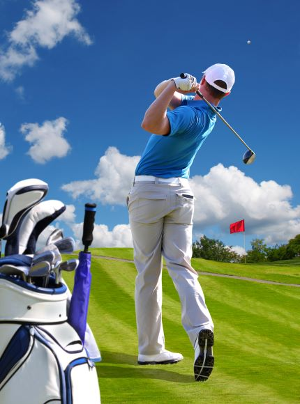 A few simple tweaks to your golf warm up could add 40 yards to your drive